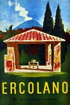 "16x20""Poster on Canvas.Home Room Interior design.Travel Italy.Ercolano.6521 - $46.75"