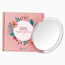 Updated 2020 Version, 5Inch, 20X Magnifying Mirror with Three Suction Cups, Use