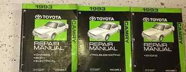 1993 Toyota CAMRY Service Shop Repair Workshop Manual Set OEM Factory  - $69.25