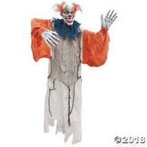 Hanging Creepy Clown Halloween Décor - $81.23