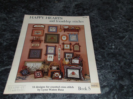 Happy Hearts and Friendship Stitches Book 5 by Lynn Waters Busa - $3.99