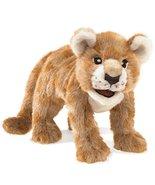 Folkmanis African Lion Cub Hand Puppet Plush - $39.59