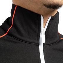 Hugo Boss Men's Sport TrackSuit Zip Up Sweatshirt Jacket & Pants Set Black image 4