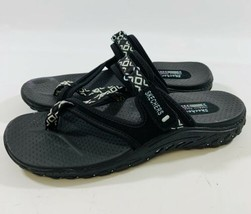 Skechers Outdoor Lifestyle Womens size 11 Leather Textile Sport Sandals - $23.09