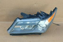 07-09 Acura MDX XENON HID Headlight Lamp Driver Left LH - POLISHED image 4