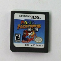 Mario Hoops 3 on 3 (Nintendo DS, 2006) Cart Only Tested - $12.95