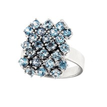 SALAVETTI Blue Topaz Cocktail Ring - $1,164.00
