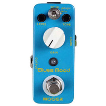 New Mooer Blues Mood Classic Blues Overdrive Micro Guitar Effects Pedal! - $68.80