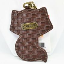 Chala Handbags Faux Leather Whimsical Raccoon Charm Key Chain Keychain image 2