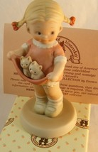 "Enesco Memories Of Yesterday ""A Lapful Of Luck "" Mib - Mabel Attwell - $13.54"