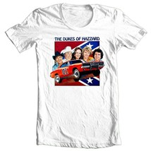 Dukes of Hazzard T-shirt 1980s retro TV show 70s General Lee 100% cotton tee image 1