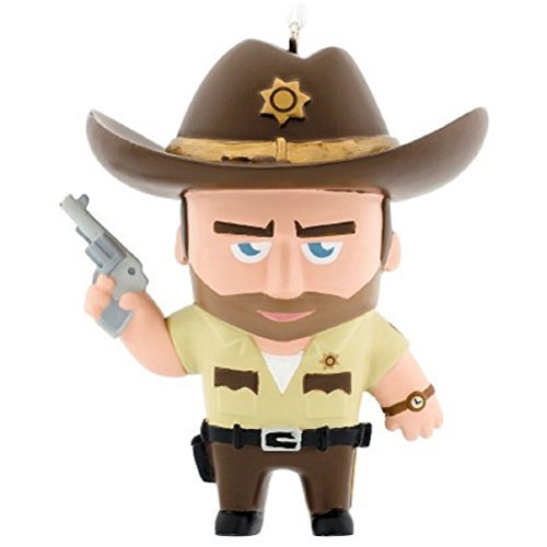 Primary image for Hallmark Christmas Tree Ornament: Walking Dead RICK GRIMES