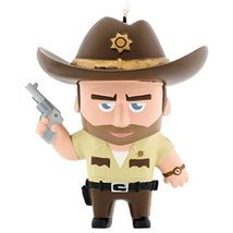 Hallmark Christmas Tree Ornament: Walking Dead RICK GRIMES - $15.81