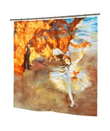 """Degas Ballerina """"The Star"""" Fabric Shower Curtain Museum Collection Polye... - $29.58"""