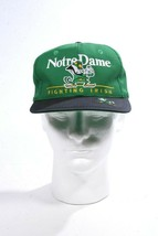 Notre Dame Fighting Irish Green & Navy Baseball Hat Twin Enterprise Adju... - $24.19