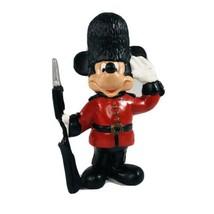 "Bullyland Disney Mickey Mouse Royal Guard 3.5"" PVC Vintage Figure Figurine - $29.69"