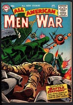 ALL AMERICAN MEN OF WAR #32-1956-WWII-DC-SILVER AGE-HIGH GRADE - $230.38