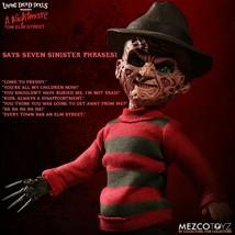 Mezco Toyz Living Dead Doll Nightmare On Elm Street Talking Freddy Krueg... - $73.92