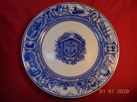 "10 3/8"" Plate, 1936 Tercentenary of Rhode Island, by Wedgwood for Tilden... - $24.99"