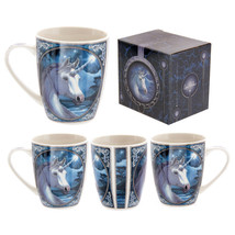 Fantasy Unicorn Design New Bone China Mug Gift Present Novelty - $15.19