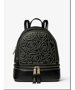 MICHAEL Michael Kors Rhea Zip Medium Backpack (Black Stud) - $268.00