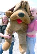 Big Plush Cane 1.5m Marrone Morbido Grande Peluche Puppy con Floppy Ears... - $177.18