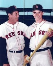 TED WILLIAMS & TONY CONIGLIARO 8X10 PHOTO BOSTON RED SOX BASEBALL PICTUR... - $3.95