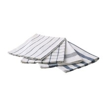 NEW 4 PACK ELLY Dish Towel White And Blue Color Size 50x65 cm - $14.00