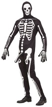 Horny Skeleton Extra Large For Halloween Fancy Dress Costume #ihd - $47.79