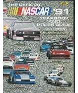 1991 Official NASCAR Yearbook, Press Guide-288 pages-Dale Earnhardt-Wlin... - $13.55