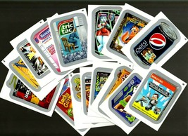 """2013 Wacky Packages All New Series 10 {ANS10} Silver """"LOT OF FIFTEEN"""" Stickers - $16.70"""