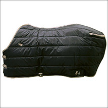 New Hilason Western 78 Inch Winter Black Stable Horse Blanket U-78BK - $84.95
