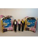 3 VTG Hasbro New Kids on the Block NKOTB Dolls w/ 2 boxes and cassette t... - $39.60