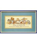 Coats & Clark Counted Cross Stitch Warm Hugs Kittens Stuffed Animal Kit ... - $14.99