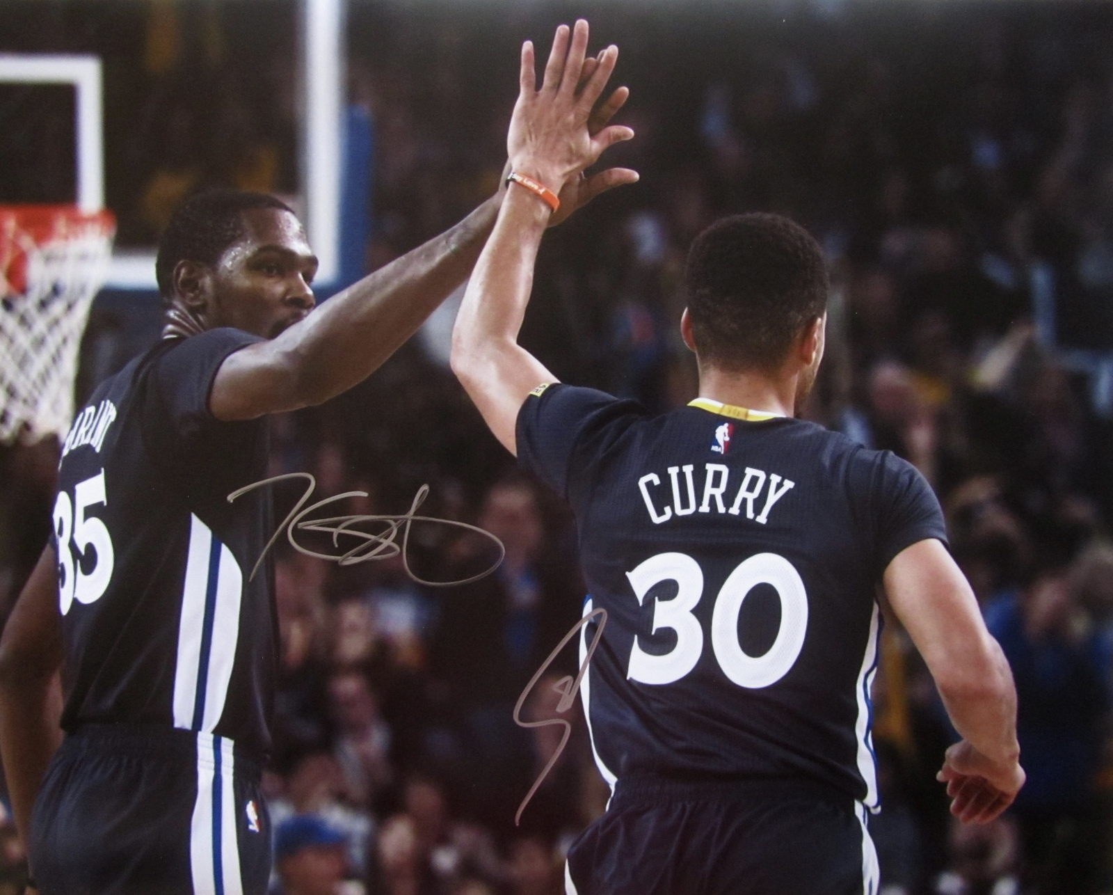 wholesale dealer 8191a b4e4b Stephen Curry Kevin Durant Dual Signed and 14 similar items