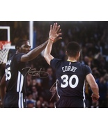 STEPHEN CURRY KEVIN DURANT DUAL SIGNED AUTOGRAPHED 16x20 PHOTO WARRIORS ... - $549.99