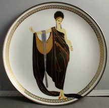 House of Erte Limited Edition Plate HE1461 Glamour - $24.75