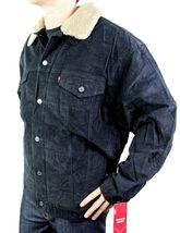 NEW LEVI'S MEN'S PREMIUM CLASSIC CORDUROY BLACK FUR JACKET 705201039 SIZE 2XL image 3