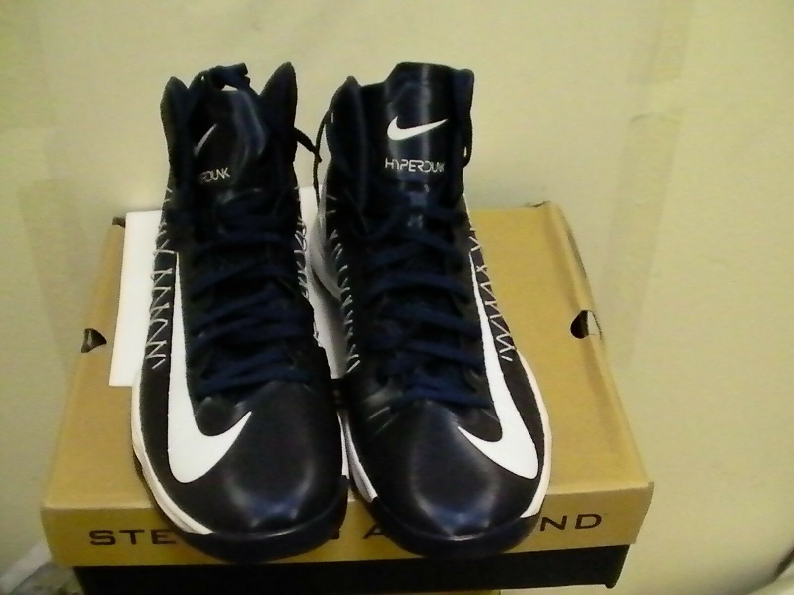 Nike men hyperdunk basketball shoes size 18 us navy blue