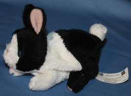 FurReal Pets Snuggimals Rabbit Black White Animated Pet Toy Plush Bunny ... - $17.42