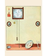 Clock and Plate by Eugene Field - Art Print - $19.99+