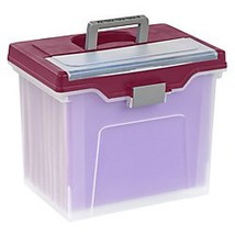 Office Depot Large Mobile File Box, Letter Size, 11 5/8in.H x 13 3/6in.W... - $33.06