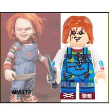 Single Sale Lego Chucky Horror Minifigure Toys Building Blocks Toys Kids - $1.99