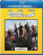 Fast  Furious 6 (Blu-ray Disc, 2013, 2-Disc Set) - $8.00