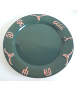 Frankoma Ranch Forest Green Dinner Plate - $33.65