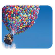 Mouse Pad Up House Disney Cartoon Anime Movie Balloon House In Blue Sky Design - $9.00