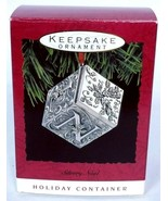 Hallmark Keepsake Christmas Ornament Silvery Noel 1993 - $12.80