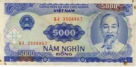 Viet Nam 5000 Dong 1991 NV-108 - $2.79