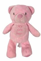 "Kellytoy  My First Bear Pink Teddy Bear Plush 10"" Rattle Toy - $20.68"