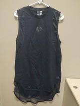 New Adidas NHL Chicago Blackhawks ID Long Tee Small Womens Black DX7931 - $19.00